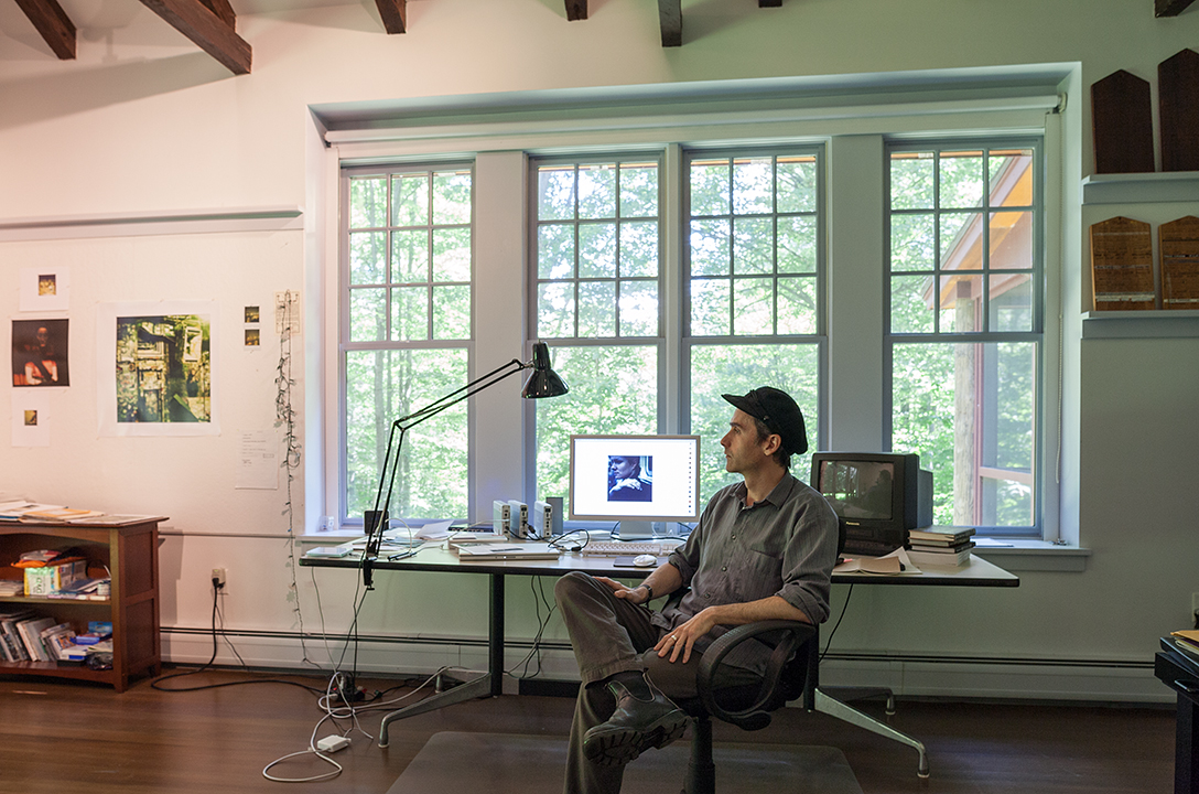 Jem Cohen in residence at the MacDowell Colony