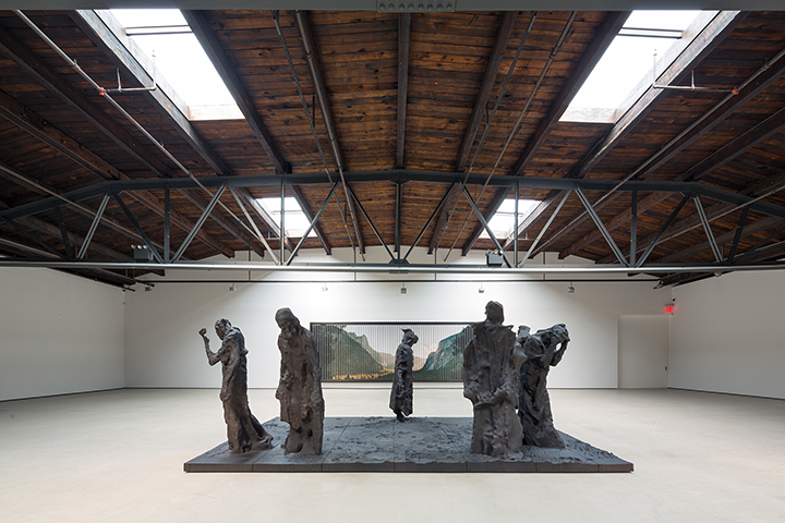 "Matthew Day Jackson's ""The Burgher's of Calais"" at Hauser+Wirth Gallery"
