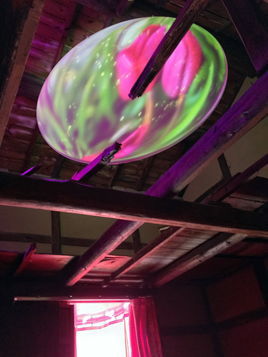 #023 Your First Colour (Solution In My Head-Solution In My Stomach) by Pipilotti Rist on Teshima