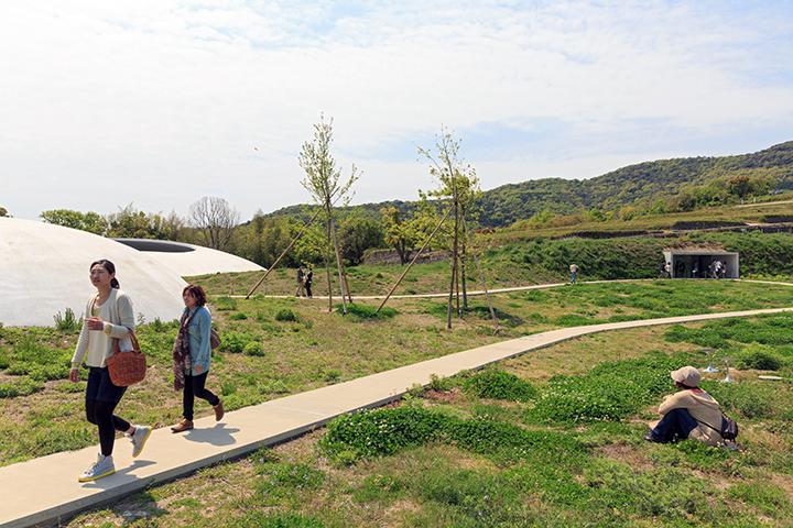 Teshima Art Museum by architect Ryue Nishizawa and artist Rei Naito