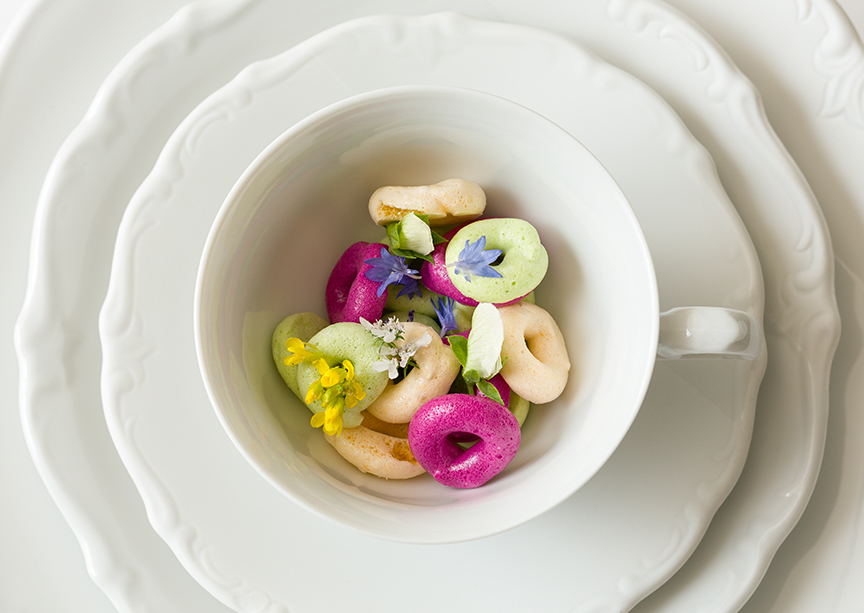 "Chef Uwe's ""Froot Loops"" from the 1963 Menu at the Mandarin Grill, Mandarin Oriental Hong Kong"