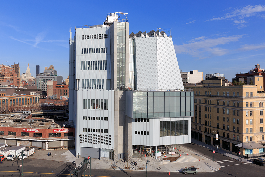 The new Whitney Museum at 99 Gansevoort St (Architect Renzo Piano)