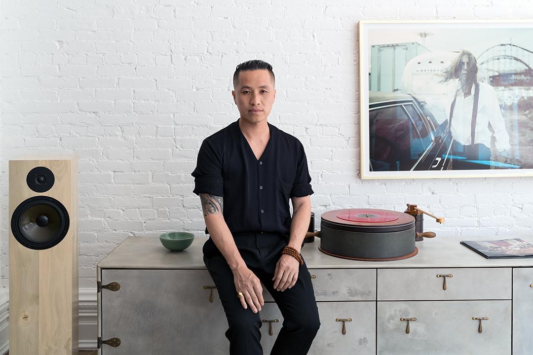 Phillip Lim in his Soho loft